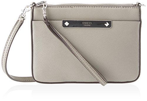 Guess Hwvy6693720, Borsa a Mano Donna, 12 x 22.5 x 28.5 cm (W x H x L) Grigio (Taupe)