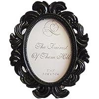 LUFA Marco de la foto floral marco redondo marco titular decoración de la boda