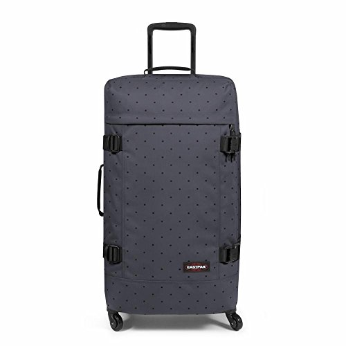 Eastpak Trans4 L Maleta, 75 cm, 80 Litros, Color Dot Grey (Gris)