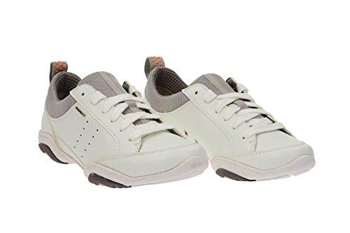 GEOX D ARROW B - SYNT.LEA D5220B-000BC/C1000 femmes Chaussures à lacets Blanc