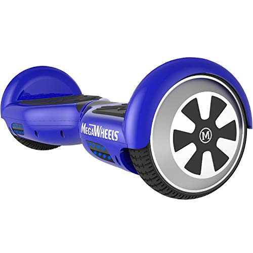 "M MEGAWHEELS 6.5"" Balance Bluetooth Scooter mit 500W Motor Und LED Lights Elektroscooter Blau"