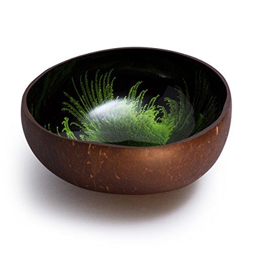 Cocobowl Splash - Kokosnuss Schale/Dekoschale - grün