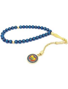 Gebetskette - Tesbih Fenerbahce FB für Fußballfans Blau Gold Farben