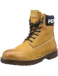 Pepe Jeans London NEPAL RUGGED NUBUCK Herren Combat Boots