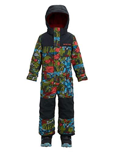 Burton Jungen Minishred Striker One Piece Snowboardoverall, Never Ending Story/True Black, XXS/5-6