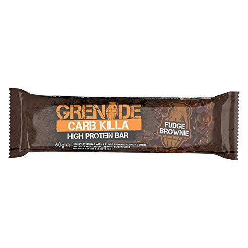 Grenade Carb Killa High Protein Brownie 12 x 65g - Fudge Brownie 12 Fudge brownie