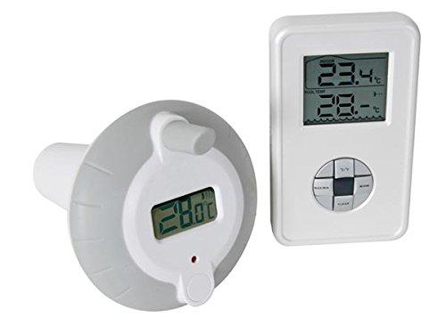VSE 147599 Drahtloses Thermometer für Schwimmbad/Teich