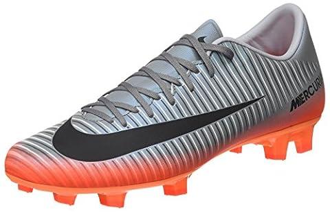 Nike Mercurial Victory VI CR7, Chaussures de Football Entrainement Homme, Gris (Cool Grey/Mtlc Hematite-Wolf Grey-Total), 44 EU