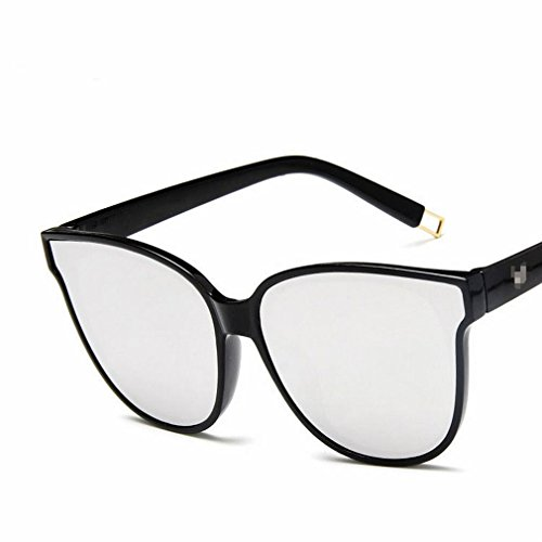 Gafas de Sol de Moda Azul Mar Gafas de Sol de Moda Gafas de Sol Retro Coloridos,Segundo