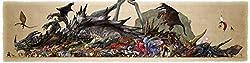 Monster Hunter Poster auf Seide/Siebdrucke/Tapete/Wanddekoration 713952823