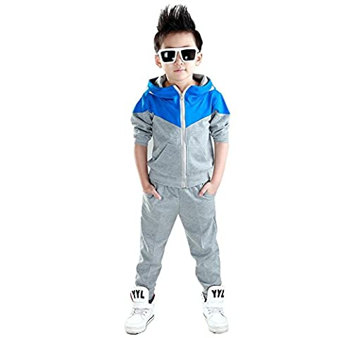 Boys Clothes Sets Hoodied Shirt + Pants Kids Clothing Casual