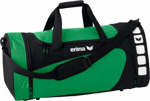 Erima Sporttasche, Smaragd/Schwarz, M, 49.5 Liter, 723332