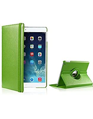 iPad Air 2 Case [Corner Protection] - Slim Fit Premium Pu Leather Folio Case, Free* UK Delivery for Apple iPad Air 2 (iPad 6) 2014 Model