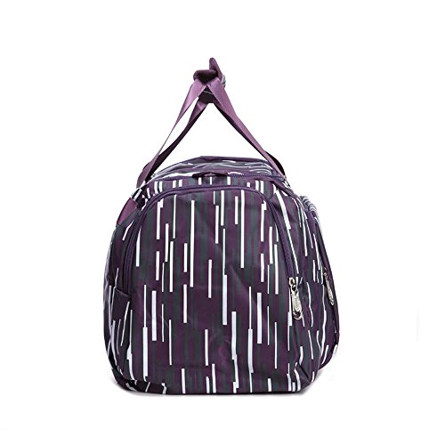 Neuleben Wasserabweisend Sporttasche für Sport Fitness Reise Damen Mädchen Reisetasche 30 Liter Pink
