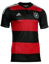 Adidas adizero DFB Away Trikot kurzarm Player Edition M L XL schwarz rot 3 Stern