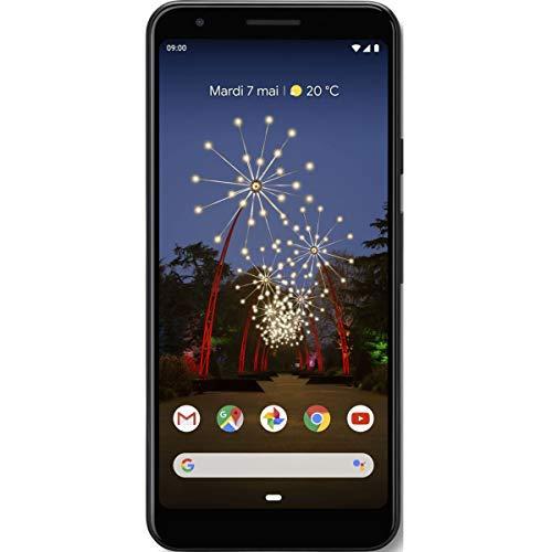 google pixel 3a da 64 gb, smartphone android 9.0 (colore nero just black)