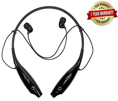 esportic HBS-730 Bluetooth Stereo Sports Headset Compatible with Xiaomi, Lenovo, Apple, Samsung, Sony, Oppo, Gionee, Vivo Smartphones(Multicolour)