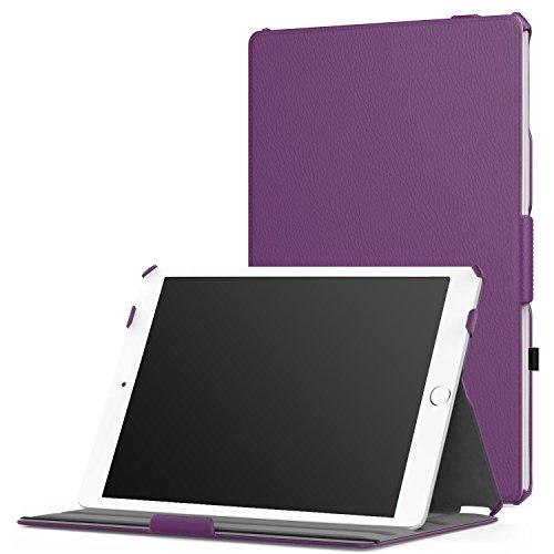 Navitech Lila Lederetui für die iPad Pro 9.7 (Ipad Lila Deckung)