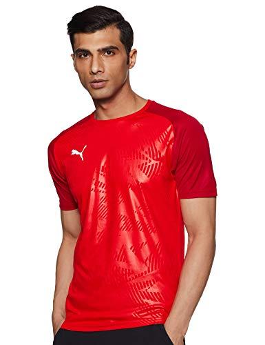 PUMA Herren Cup Training Jersey Core Trikot, Red-Chili Pepper, S -