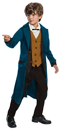 Boys Deluxe Newt Scamander Fancy dress costume Medium