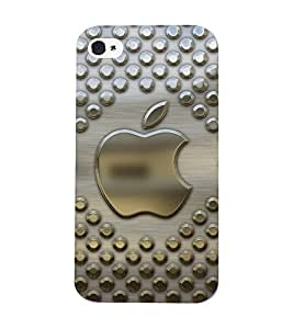 Mental Mind 3D Printed Plastic Back Cover For Iphone 4s - 3DIP4S-G27