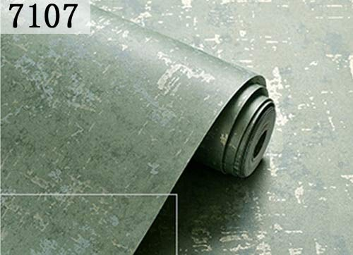 Holzkohle Grau Streifen (LFBIZHI Vintage Plain Feste Abstrakte Beton Zement Tapete Holzkohle Silber grau Tapetenrolle Für Schlafzimmer Wohnzimmer Decor 5,3㎡ 7107)