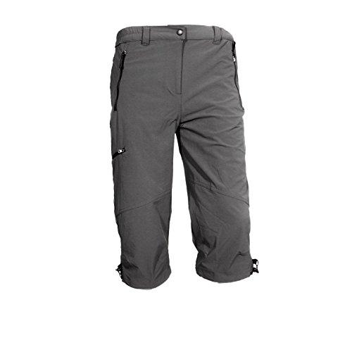 Hot de Sportswear Mendoza Graphite 3/4 Bermuda Stretch Homme Gris, Gris