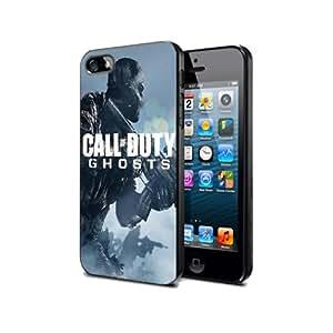 Cod1Schutzhülle schwarz Silikon für Sumsung S5Call of Duty Ghost Game @ UTMSHOP