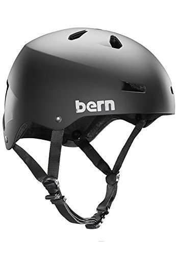 Bern Helmets - Bern Macon H2O Helmet - Matte Black