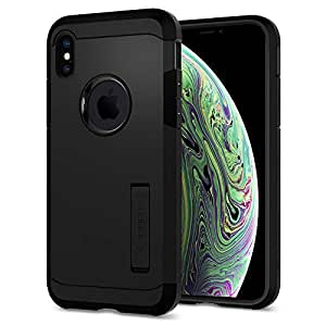 Spigen Tough Armor Case for iPhone X (2017) - Matte Black 057CS22160
