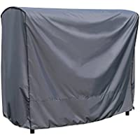 Funda / Cover / Protectora para Balancín | 203 x 145 x 183 cm (L x A x A) | Gris | Resistente al Agua | SORARA | Poliéster (UV 50+) | Para exterior Muebles de Jardín, Terraza, Patio