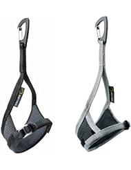 Edelrid Leash Extreme - Crampones - Set (right + left) gris/negro 2014