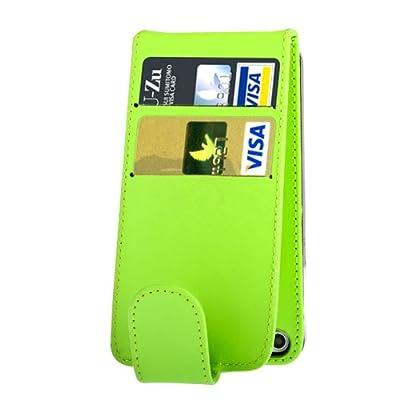 Qualität Original Apple iPhone 4 4S Parrot Grüne Flip PU-Leder-Kasten-Abdeckung für Apple iPhone 4 4S von G4GADGET® bei Du und dein Garten