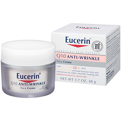 Eucerin Sensitive Facial Skin Q10 Anti-Wrinkle Sensitive Skin Creme 48g