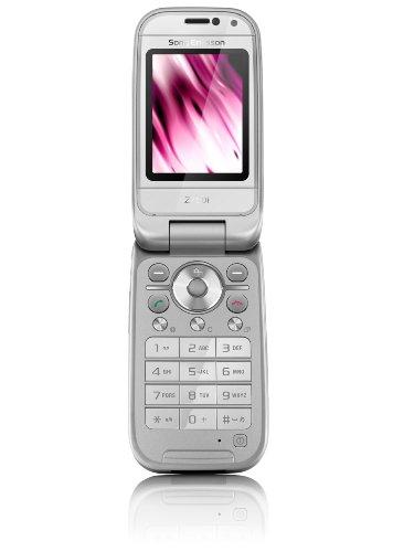 Sony Ericsson Z750i Silber Handy (HSDPA, Aussendisplay, 2 MP)