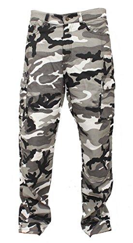 Schutz Motorradhose st▒dtischen Camouflage motorrad Hose Jeans Fracht Verst▒rkt durch Aramid Schutzauskleidung(Groesse:36 Regular) (Motorrad Jeans Hose)