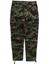 Pantalones De Camuflaje De Los Hombres Pantalones Tácticos De Pantalones  Holgados Ropa Carga De Algodón De b74a37482c8