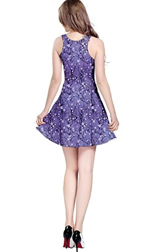 CowCow Damen Kleid Blau Blau Violett - Violett