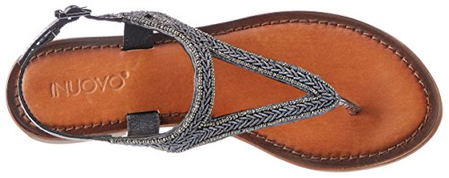 Inuovo 7215, Infradito Donna Silber (Pewter)