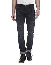 Jack & Jones Mens Slim Fit Jeans (5713238205899_12115510Black Denim_36W x 34L)