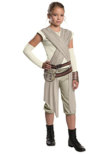 Child Deluxe Star Wars The Force Awakens Rey Fancy dress costume X-Large