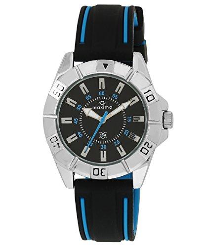 Maxima Uber Collection Analog Black Dial Men's Watch - 35602PAGI image