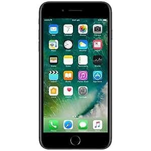 "Apple iPhone 7 Plus Smartphone 4G (Display: 5,5"" - 128 GB - iOS 10) Nero opaco [Francia]"