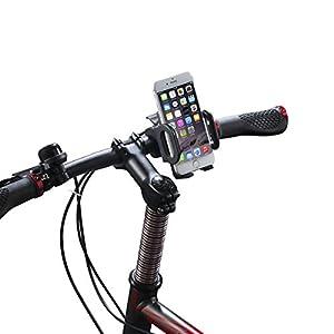 vélo Support Bicyclette Support Fixation   Breett Bicyclette Support Fixation est créé avec fonction. Il est facile à utiliser avec un système de l'opération tactile.  Il vous fait garder votre phone sur le guidon, ainsi vous pouvez suivre votre GPS ...