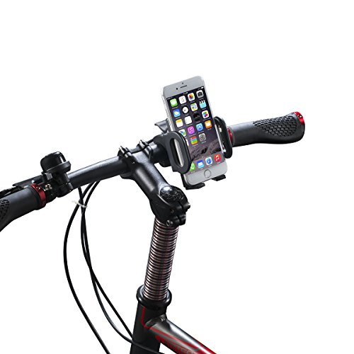 vélo Support Bicyclette Phone Fixation, Breett® Bicyclette Support Fixation pour iPhone 6/5s/5c/4s, Samsung Galaxy S5/S4, Google Nexus 5