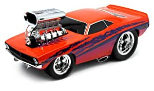 Muscle Machines - 71166W - Voiture Miniature - Chevoret Chevy Dragster - 1/18