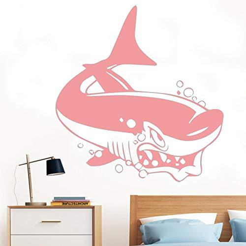 Ajcwhml Wandaufkleber Fischhai Delphin Ozean Wandkunst Applique Kindergarten 30cm X 30cm
