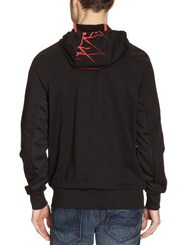 PUMA Herren Sweatshirt Hooded FT Black
