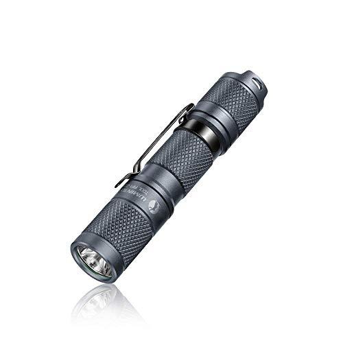 LED Taschenlampe LUMINTOP Tool AA 2.0 Kleine Handlampe mit CREE Superhell 650 Lumen IP68 Wasserdicht 5 Modi Einstellbar Leichte Flashlight für Outdoor Camping Wandern Klettern Notfall (Grau)