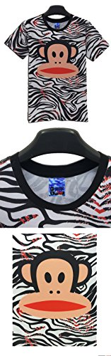 Yonbii  Herren T-Shirt Multicoloured-R24
